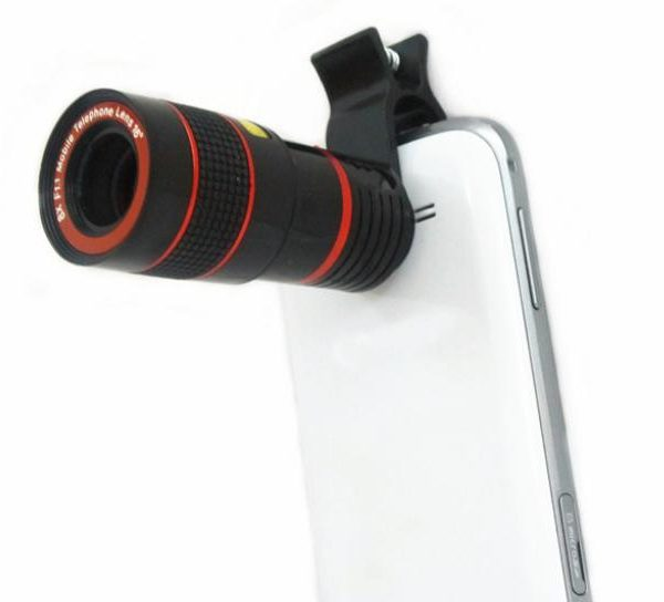 mobile zoom lense