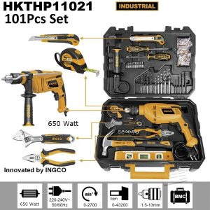 INGCO 101 pieces tool kit 11021