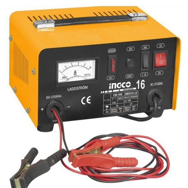 INGCO Battery Charger 12V.24V
