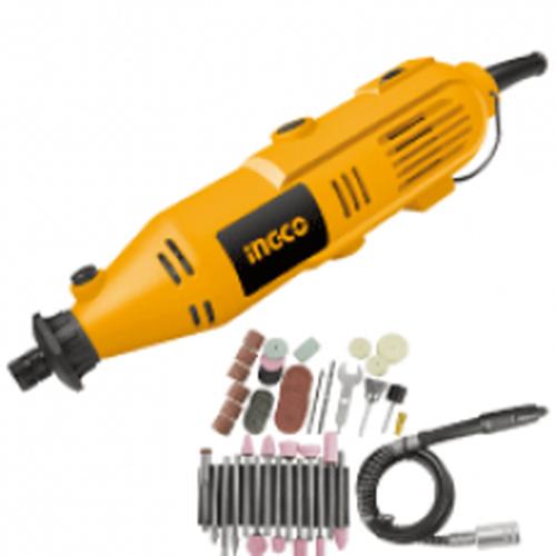 INGCO mini drill machine with 52 accessories