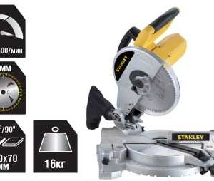 Stanley 1500 Watt 254mm Compound Miter Saw