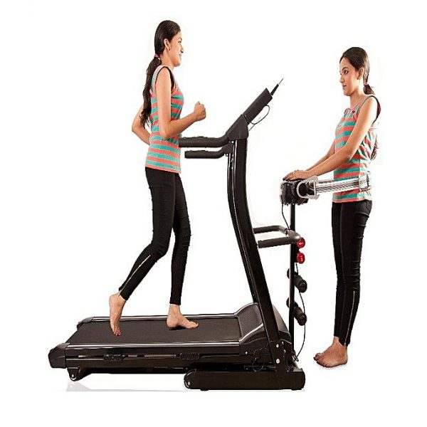 Motorized Treadmill WH 6008D Black