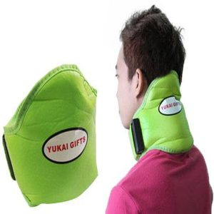 Neck Pillow Massager Green