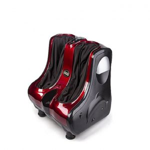 Shiatsu Foot and Calf Massager Maroon