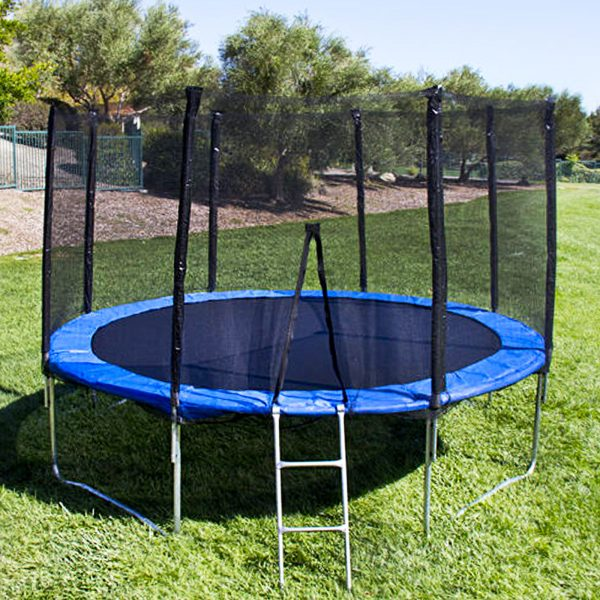 12 Ft Trampoline with Enclosure and Net PK