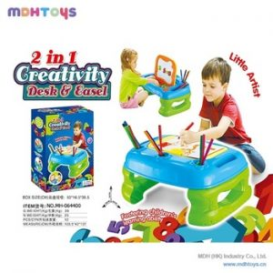 2 in 1 Learning Table for Kids 7718