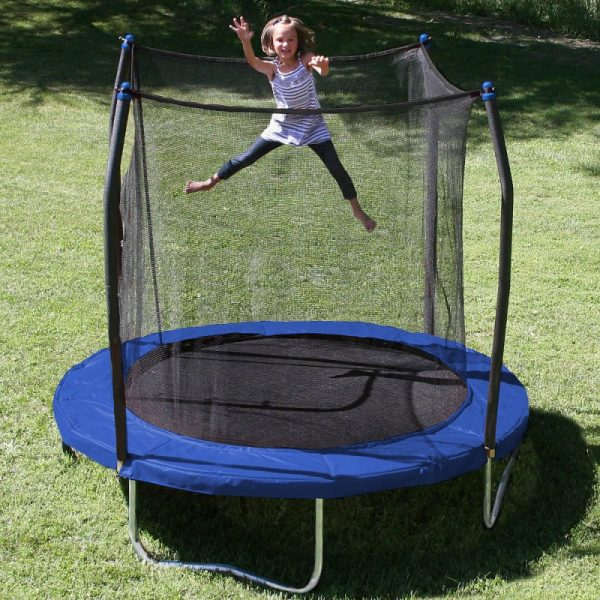 8-Foot Trampoline with Safety Enclosure PK