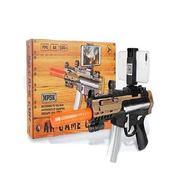 PAK Toy Air Game Gun MP5K Black
