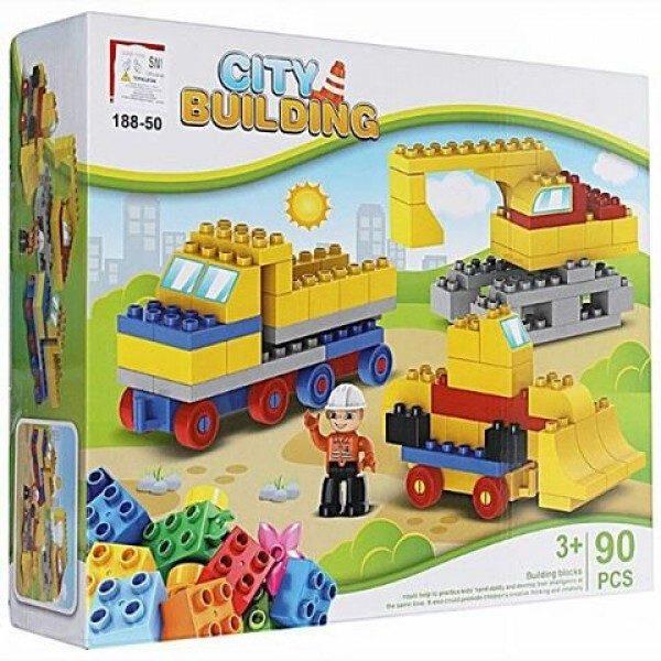 Block 90 Pcs City Building 188-50