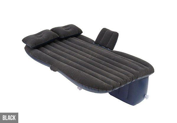 Car Air Bed Black