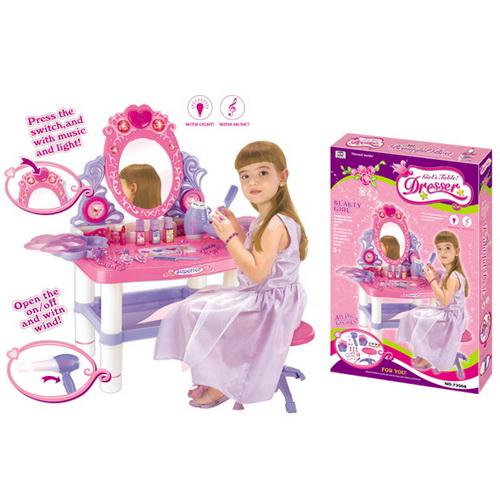Girls Dressing Table Pink PK