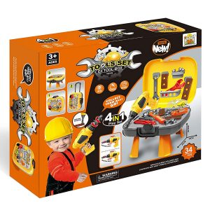 Kids Tool Set 34 PCS with Box