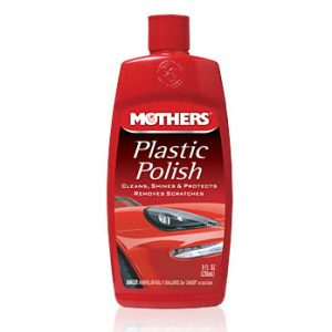 Mothers Plastic Polish 8 Oz-1