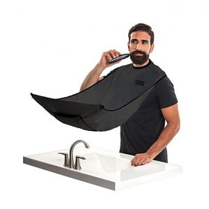 PAK Beard Bib Black Shaving Grooming Apron