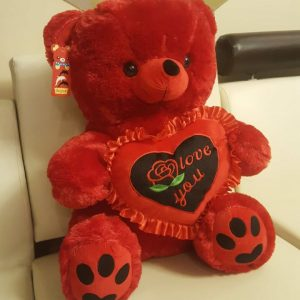 Radiant Red Teddy Bear