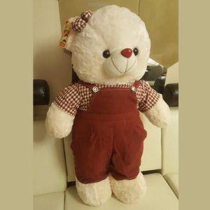 Soft Teddy Bear with Complete Suit