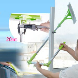 Telescopic High-rise Multifunctional Window Glass Cleaner Brush PK