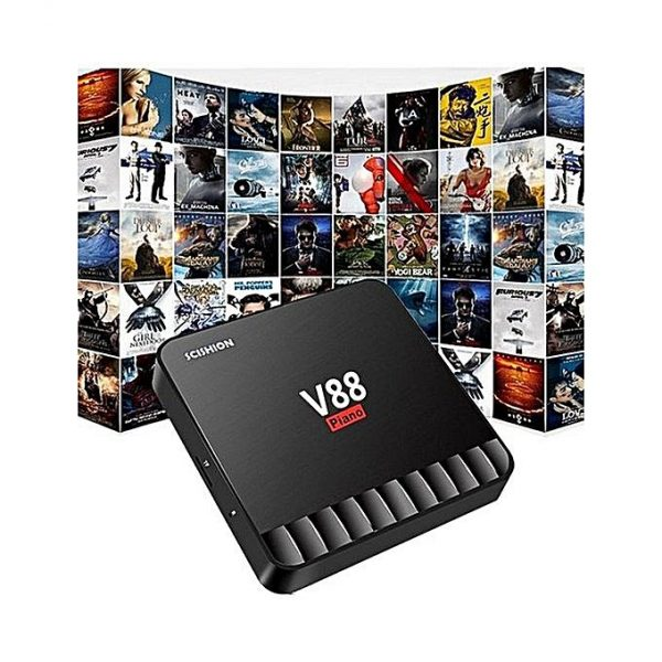 Android Smart Tv Box V88 Piano