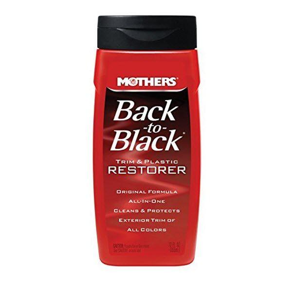 Mothers Back to Black Trim and Plastic Restorer 12 Oz