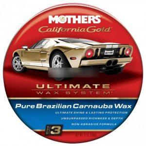 Mothers California Gold Natural Formula Wax 12 Oz