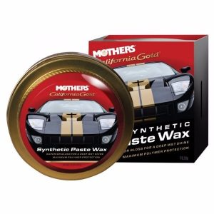 Mothers California Gold Synthetic Paste Wax 11 Oz