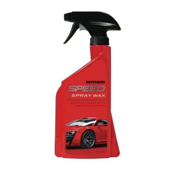 Mothers Speed Spray Wax 24 Oz