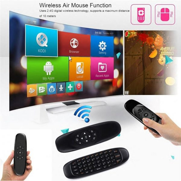 Wirelesss Air Mouse C120 For Android and Smart TV