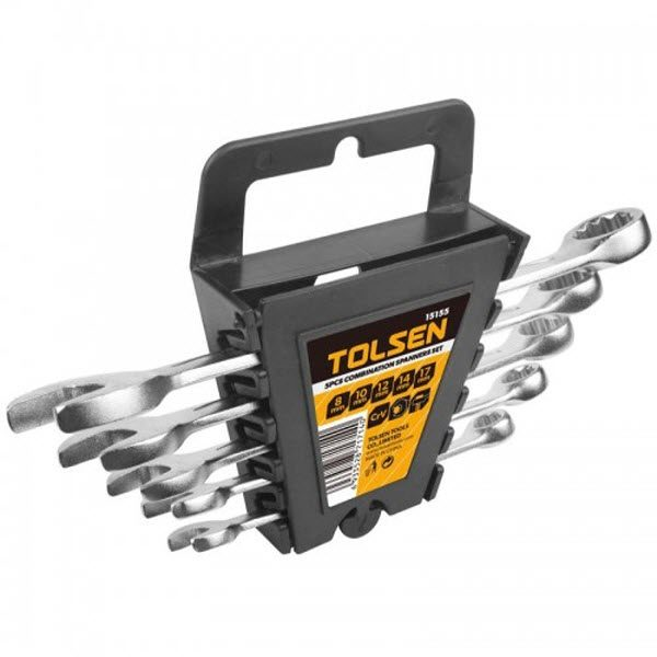 Tolsen 15155 5 Pieces Combinations Spanners Set PK