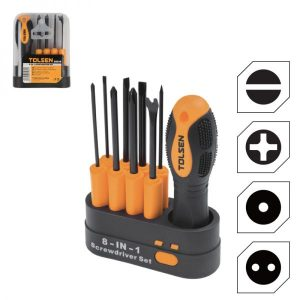 Tolsen 20039 8 in 1 Screwdriver Set PK