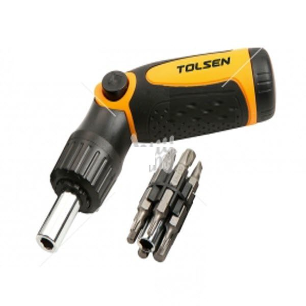 Tolsen 20040 14 in 1 Ratchet Screwdriver PK