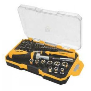 Tolsen 20041 42 Pieces Bits and Socket Set PK