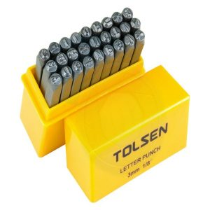Tolsen 27 Pieces Letter Punch PK