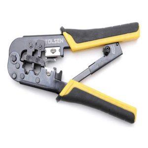 Tolsen 38054 Ratchet Modular Crimping Plier