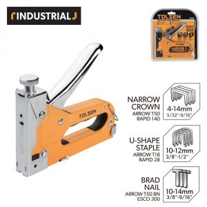 Tolsen 43021 Heavy Duty 3 Way Staple Gun PK
